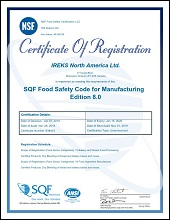 SQF: Food safety from farm to fork